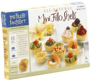 Fillo Factory Fillo Shells Mini