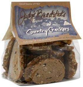 Judys Breadsticks Crackers Country