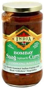 India Select Cooking Sauce Saag (Spinach) Curry