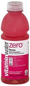 Vitaminwater Water Beverage Nutrient Enhanced, Focus, Kiwi-Strawberry