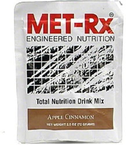 MET Rx Apple Cinnamon Total Nutrition Drink Mix - 2.5 oz