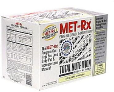 MET Rx Total Nutrition Drink Mix Original Vanilla