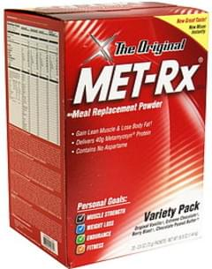 MET Rx Meal Replacement Powder Variety Pack