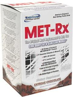 MET Rx Protein Drink Mix Extreme Chocolate