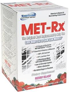 MET Rx Protein Drink Mix Berry Blast