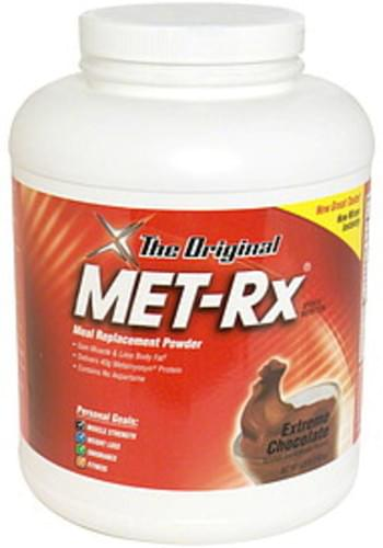 MET Rx Extreme Chocolate Meal Replacement Powder - 6.25 lb