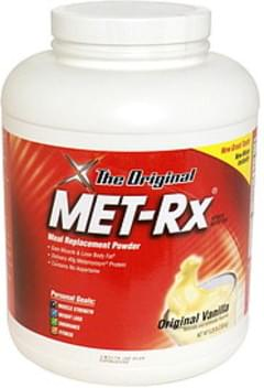 MET Rx Meal Replacement Powder Original Vanilla
