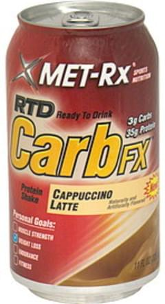 MET Rx Protein Shake Ready to Drink, Cappuccino Latte