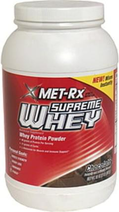 MET Rx Whey Protein Powder Chocolate
