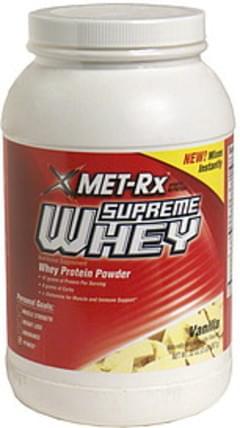 MET Rx Whey Protein Powder