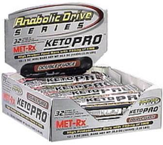 MET Rx High Protein Food Bar Double Fudge