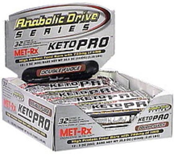 MET Rx Double Fudge High Protein Food Bar - 35.9 oz