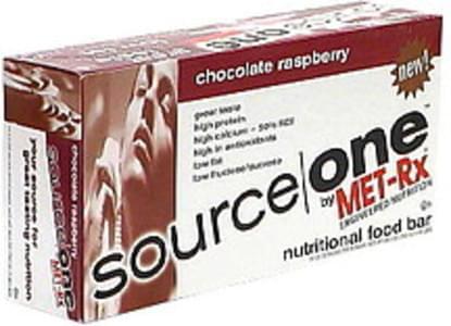 Source One Nutritional Food Bar Chocolate Raspberry