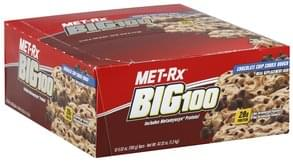 MET Rx Meal Replacement Bar Chocolate Chip Cookie Dough