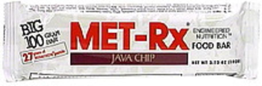 MET Rx Food Bar Java Chip
