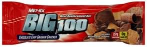 MET Rx Meal Replacement Bar Chocolate Chip Graham Cracker