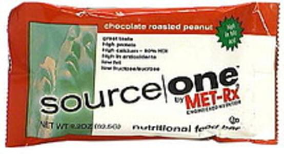 Source One Nutritional Food Bar Chocolate Roasted Peanut, High In Folic Acid