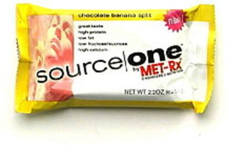 Source One Nutritional Food Bar Chocolate Banana Split