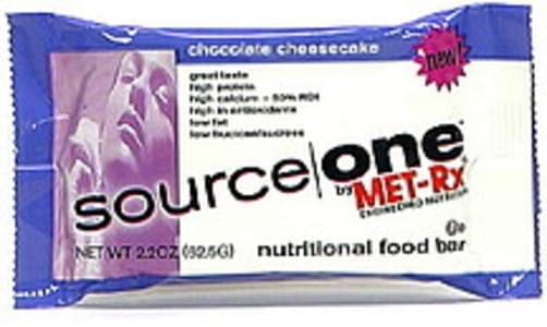 Source One Nutritional Food Bar Chocolate Cheesecake