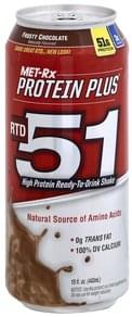 MET Rx Shake High Protein Ready-to-Drink, Frosty Chocolate
