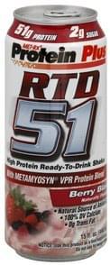 MET Rx Protein Shake Berry Blast