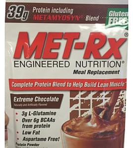 Met-rx Meal Replacement Protein Powder Extreme Chocolate