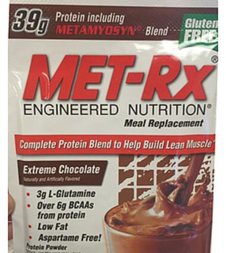Met-rx Extreme Chocolate Meal Replacement Protein Powder - 72 g