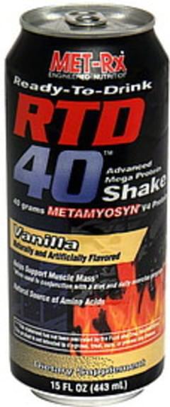 MET Rx Advanced Mega Protein Shake Vanilla