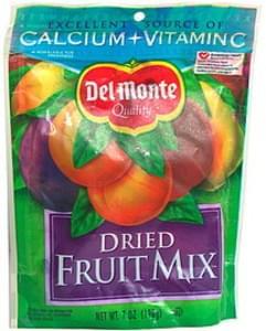 Del Monte Dried Fruit Mix