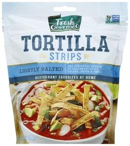 Fresh Gourmet Tortilla Strips Lightly Salted
