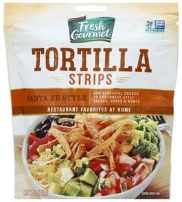Fresh Gourmet Tortilla Strips Santa Fe Style