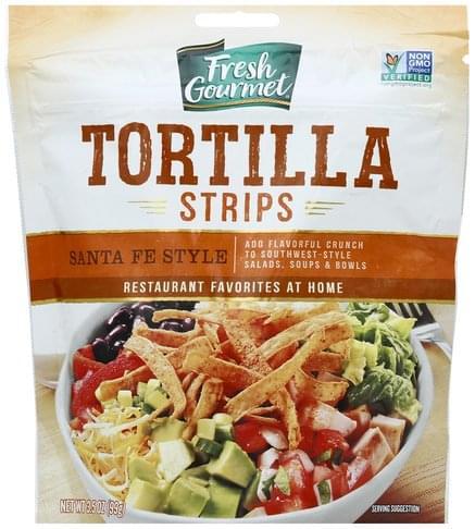 Fresh Gourmet Santa Fe Style Tortilla Strips - 3.5 oz