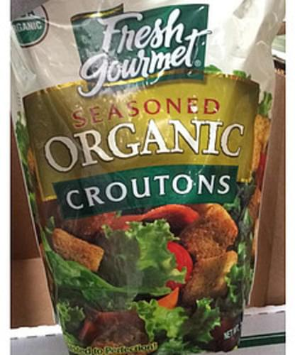 Fresh Gourmet Seasoned Organic Croutons - 7 g