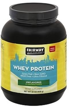 Fairway Whey Protein Unflavored & Unsweetened