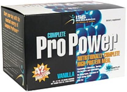 ISS Complete Pro Power Vanilla