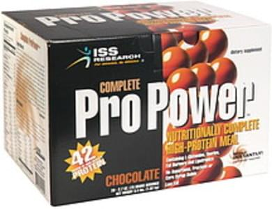 ISS Nutritionally Complete High-Protein Meal Chocolate