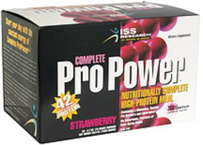 ISS Nutritionally Complete High-Protein Meal Strawberry