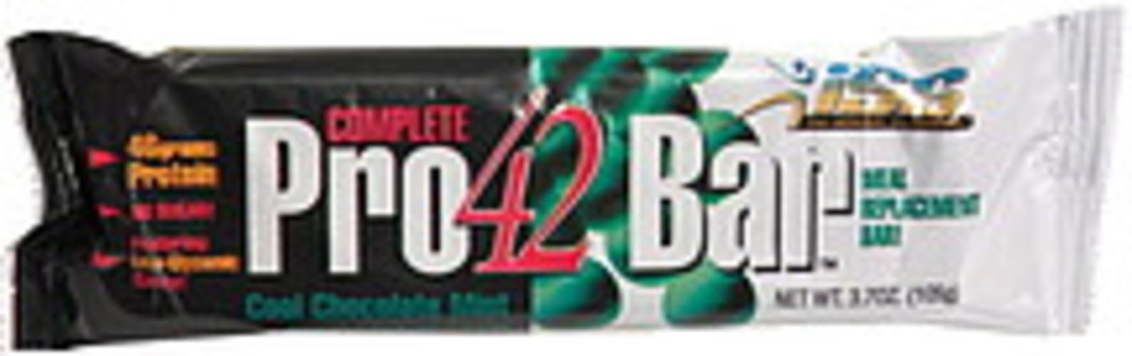 ISS Cool Chocolate Mint Meal Replacement Bar - 3.7 oz