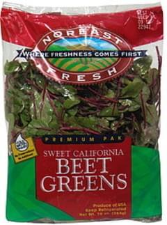 Noreast Fresh Salad Sweet California Beet Greens