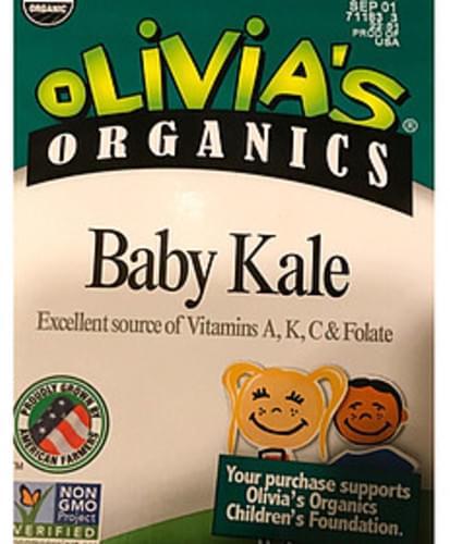 Olivia's Organic Baby Kale - 85 g