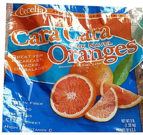 Cecelia Cara Cara Pink Naval Oranges - 154 g