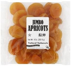 Valued Naturals Apricots Jumbo