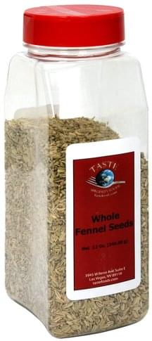 Taste Specialty Foods Whole Fennel Seeds - 12 oz