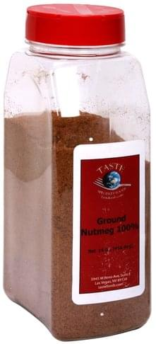 Taste Specialty Foods Ground Nutmeg 100% - 16 oz