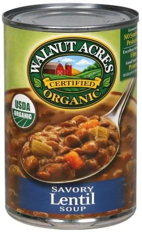 Walnut Acres Organic, Savory Lentil Soup - 15 oz