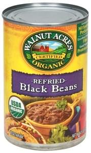 Walnut Acres Black Beans Organic, Refried