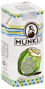 Munkijo Coconut Water 100% Organic
