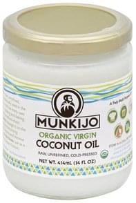 Munkijo Coconut Oil Organic Virgin