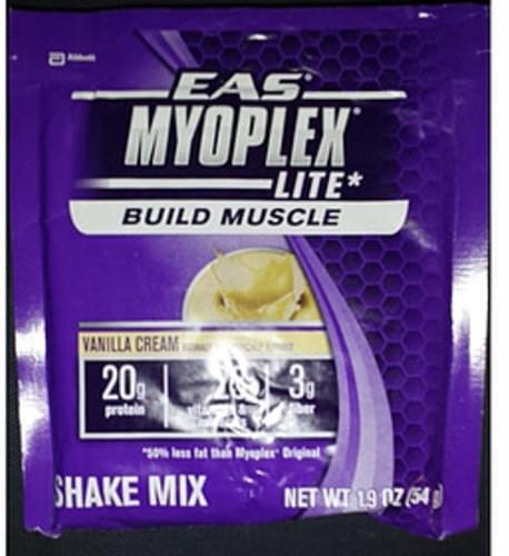 Eas Myoplex Lite Vanilla Cream Shake Mix - 54 g