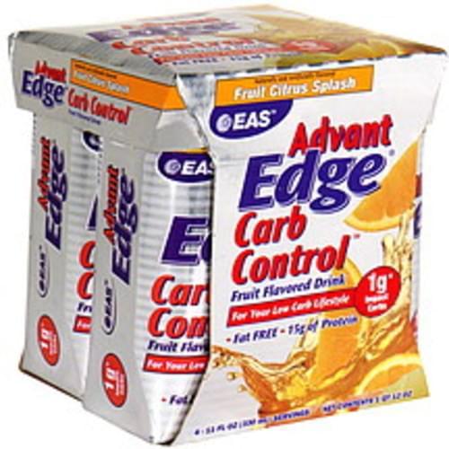 EAS Fruit Citrus Splash Carb Control Fruit Flavored Drink - 4 ea
